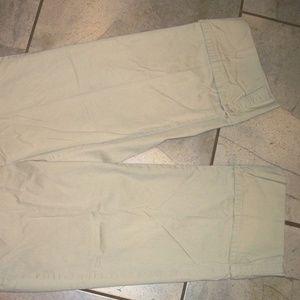 Dockers Shorts - Dockers Ideal Fit Khaki/ Beige Cotton Long Shorts